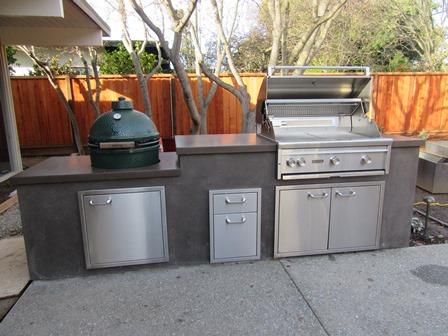 Outdoor Kitchen Construction & Concrete Designs in San ...