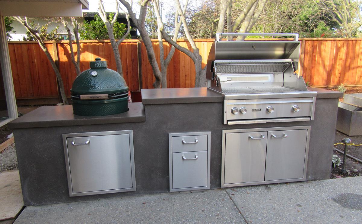 Custom Concrete Kitchen Sinks In San Jose Ca Mark Concrete