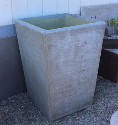 outdoor planter boxes. Concrete Outdoor Planter Boxes E