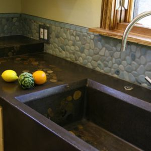 Sinks mark concrete custom kitchen sinks workwithnaturefo