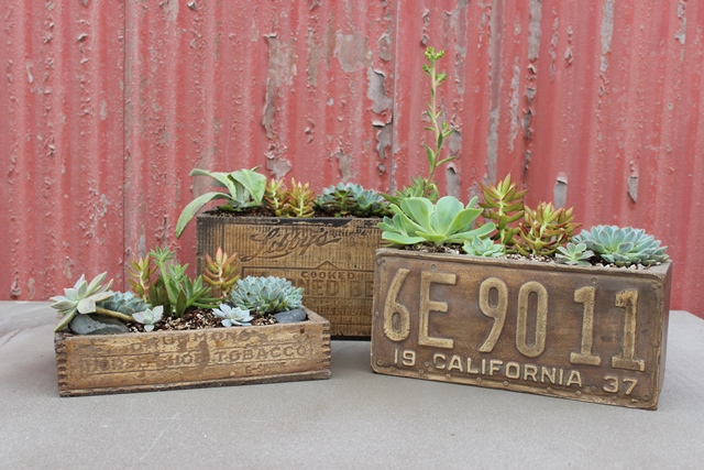 Antique Planter Box · Concrete Planters