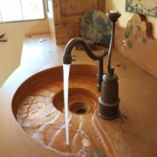 Custom Concrete Sink Design
