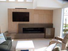 Custom Indoor Fireplace Design