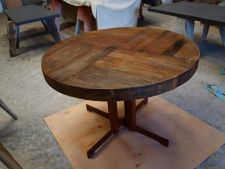 Custom made wooden table