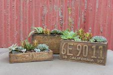 antique planter box